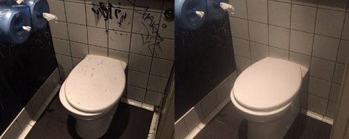Bathroom Tiles Before and After